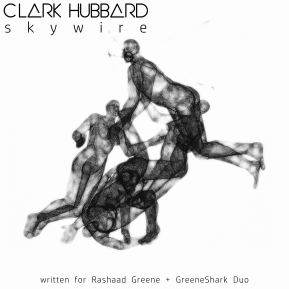 """Skywire"" cover art Clark Hubbard, 2017"