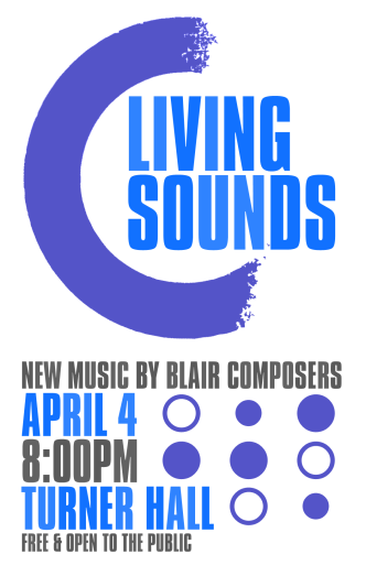 """Spring '18 SOUNDS"" Living Sounds Spring 2018 poster Clark Hubbard, 2018"