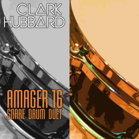 """Amager 16"" cover art Clark Hubbard, 2016"