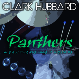 """""""Panthers"""" cover art Clark Hubbard, 2016"""