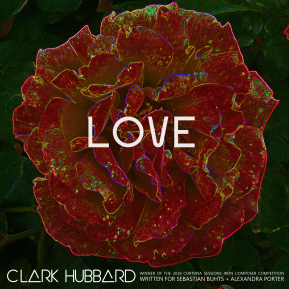 """Love"" cover art Clark Hubbard, 2018"