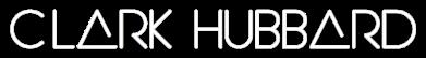 """Clark Hubbard '17 Logo WHITE"" design credit: Clark Hubbard (2017)"