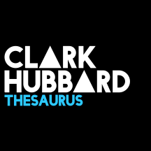 CLARK HUBBARD - Thesaurus Black Blue