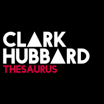 CLARK HUBBARD - Thesaurus Black Red