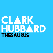 CLARK HUBBARD - Thesaurus Blue