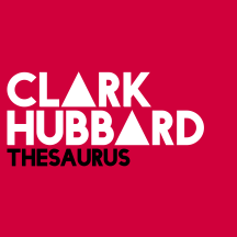 CLARK HUBBARD - Thesaurus RED
