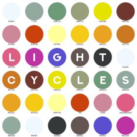 """Light Cycles"" cover art Clark Hubbard, 2018"