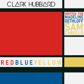 """REDBLUEYELLOW"" cover art Clark Hubbard, 2019"